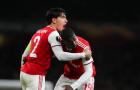 'Bom tấn' thăng hoa, Arsenal ngược dòng đầy kịch tính trước Vitoria