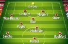 Mua được cả 3 mục tiêu hàng đầu, đội hình Man Utd đáng sợ ra sao?