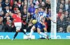 Sút tung lưới Brighton, Man Utd là 'thánh hưởng lợi' ở Premier League