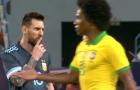 Bị Messi 'lên mặt' ngay trên sân, HLV Tite nói gì?