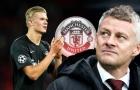 Man Utd 'săn' trung phong: Tại sao không ai hợp hơn Erling Haaland?