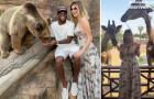 'Trốn nghĩa vụ' ĐTQG, Fred du hí cùng người vợ xinh đẹp tại Dubai