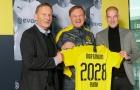 CHÍNH THỨC: Dortmund ký hợp đồng siêu chất, kéo dài 9 năm