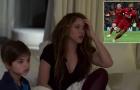 Gương mặt thất thần của bà xã Pique khi Barca bị Liverpool loại cay đắng