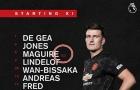 Bạn đã hiểu vì sao Maguire giữ băng thủ quân dù De Gea có mặt?