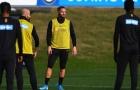 Trước giờ sinh tử, Conte có hành động lạ tại Inter Milan