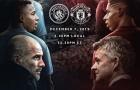 Đội hình kết hợp derby Manchester: Hỏa thủ băng công