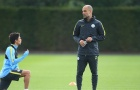 Man City tập luyện sau trận derby Manchester