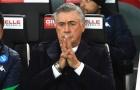 CHÍNH THỨC: Napoli sa thải HLV Carlo Ancelotti