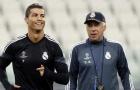 Ancelotti bị Napoli sa thải vì không nghe lời Ronaldo