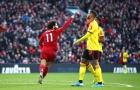 Lập cú đúp siêu phẩm bằng chân phải, Salah giúp Liverpool cán cột mốc 49 trận bất bại