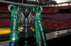 CHÍNH THỨC: Man Utd đụng 'thứ dữ' ở vòng bán kết League Cup