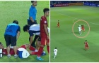 2 hình ảnh đáng lo và đáng mừng của tuyển U23 Việt Nam