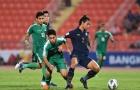 Cầm hoà Iraq, U23 Thái Lan chính thức đoạt vé dự vòng Tứ kết