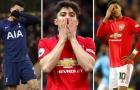 10 'máy rê bóng' kém hiệu quả nhất Premier League: Cú sốc tân binh Man Utd!