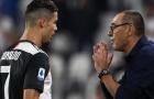 """Góc Juventus: Phải chăng Sarri đang """"sợ"""" Ronaldo?"""