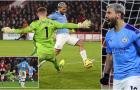 Aguero chói sáng, Man City 'thắng nhẹ' Sheffield United