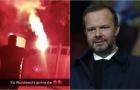 SỐC! CĐV Man Utd điên tiết, phóng hỏa nhà Ed Woodward