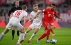 Bayern bị huyền thoại 'đánh bầm dập' sau khi để Leipzig cầm hòa