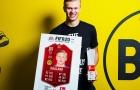 Chỉ 60 phút, Haaland đã buộc Bundesliga phải vinh danh