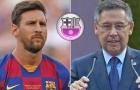 Nóng! Chủ tịch Barca âm thầm 'đâm lén' Messi