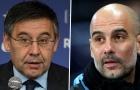 Pep Guardiola điên tiết chửi thẳng: 'Đừng lớn tiếng, Barcelona!'