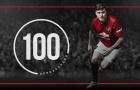 Đá 100 trận cho Man Utd, 'Người băng' đã băng hà