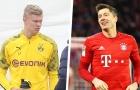 Lewandowski - Haaland:  2 'ngòi nổ' kích thích sự hấp dẫn của Bundesliga