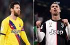 Messi phá vỡ 'siêu kỷ lục' của Ronaldo