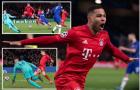 3 bàn, 1 thẻ đỏ; Chelsea thua tan nát trước Bayern Munich