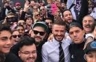 'Đẹp trai' như Beckham, chi 'núi tiền' đưa 16 hộ gia đình sang Mỹ xem bóng đá