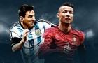 10 ĐTQG đắt giá nhất TG: Brazil số 3, số 1 gấp đôi Bồ Đào Nha