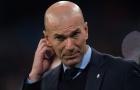 Ngổn ngang trăm mối tơ vò đổ lên đầu Zidane