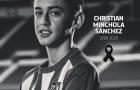 Trang chủ Atletico Madrid thông báo tiền đạo 14 tuổi qua đời