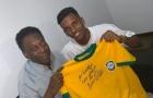 'Pele đã cầu phước cho tôi trước khi tôi đến Real Madrid'