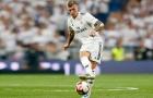 10 chân chuyền chuẩn xác nhất Châu Âu: Kroos thứ 6, lạ kỳ Barca