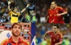 10 cầu thủ có số lần khoác áo ĐT Tây Ban Nha nhiều nhất: Số 1 không thể khác