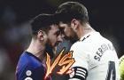10 biểu tượng trung thành nhất Châu Âu: Messi thứ 3, Ramos thứ 6