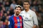 'Mùa 2010/11, tôi giỏi chỉ sau Messi và Ronaldo'