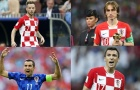 10 cầu thủ có số lần khoác áo ĐT Croatia nhiều nhất: Modric vẫn đứng sau 1 người