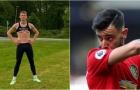 'Cỗ máy Man Utd' khoe thân hình lực lưỡng, Bruno Fernandes lập tức nhắc 1 câu
