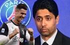 'Thả thính' Ronaldo, chủ tịch PSG sắp sửa nổ bom tấn?