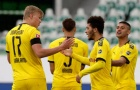 Haaland ngã chổng vó, Sancho thần tốc giúp Dortmund đánh sập pháo đài Volkswagen Arena