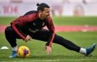 Zlatan rời Ý, quay trở về Thụy Điển sau khi gặp chấn thương