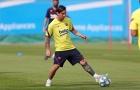 Tích cực tập luyện, dàn sao Barca đối đầu thử thách khó khăn