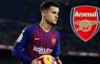 'Coutinho không có cơ hội gia nhập Arsenal'