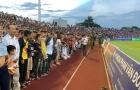 Bù giờ 22 phút, trận Hà Tĩnh vs Hà Nội lọt top kỷ lục thế giới