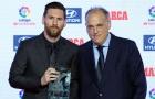 """Chủ tịch La Liga: """"Ronaldo ra đi không ảnh hưởng đến giải đấu. Messi thì khác"""""""