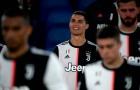 Ký ức EURO 2012 lặp lại, Ronaldo bất lực nhìn Juventus thất bại ở Coppa Italia