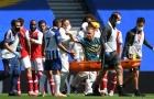 Toàn cảnh drama 'siêu to khổng lồ' ở trận Brighton 2-1 Arsenal